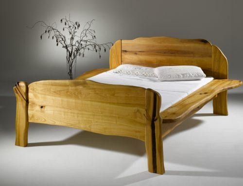 bett aus kirsche urholz m bel aus heimischen edelh lzern. Black Bedroom Furniture Sets. Home Design Ideas