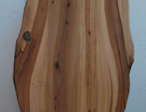 Tischplatte aus Elsbeere