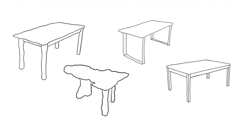 Tisch Modelle