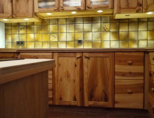 Küche aus Elsbeere